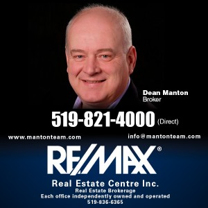 Dean Manton Guelph Remax Broker grapic