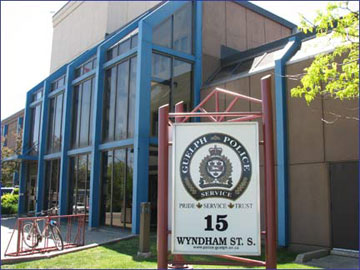Guelph Police Services Wyndham Street Guelph Ontario