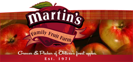 Martin's Family Fruit Farm logo